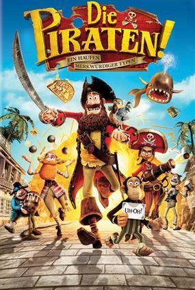 Die Piraten ! Ein Haufen Merkwürdiger Typen