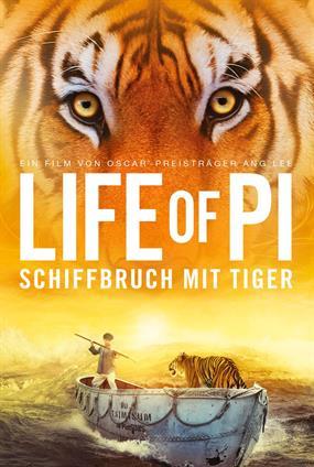 Life Of Pi : Schiffbruch Mit Tiger